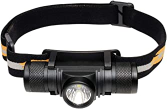 RMXMY Outdoor Home Fashion Personality Headset Flashlight Glare Long-Range Portable Mini USB Charging Night Riding Camping Multi-Function Miner's Head lamp