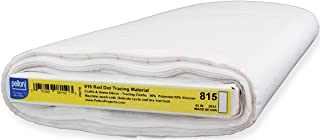 Pellon Red Dot Tracing Material, 45-Inch by 25-Yard, White