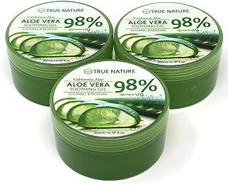 "KPI Healthcare Aloe Vera 98% Soothing Gel Moisture Aloe""3 Packs"""