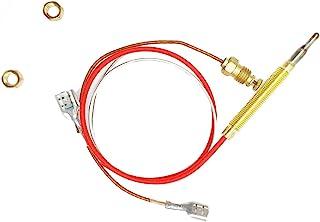 Al aire libre calentador de repuesto M8x 1final conexión tuercas M6x 0,75rosca cabeza con termopar 0,4metros de longitud