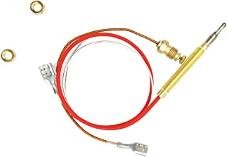 Outdoor Heater Replacement Parts M8 x 1 End Connection Nuts Thermocouple 0.4 Meters Length M6 x 0.75 Head Thread with,Suitable for Outdoor Patio Heaters Repair and Replacement
