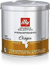 illy Coffee, iperEspresso Capsule,Arabica Selections Ethiopia Single Origin Espresso..