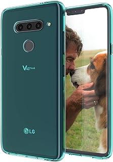 KEEPCA LG V40 ThinQ case,LG V40 Phone Case Slim Thin Flexible TPU Rubber Gel Soft Skin Silicone Carbon Fiber Anti-Scratch ...
