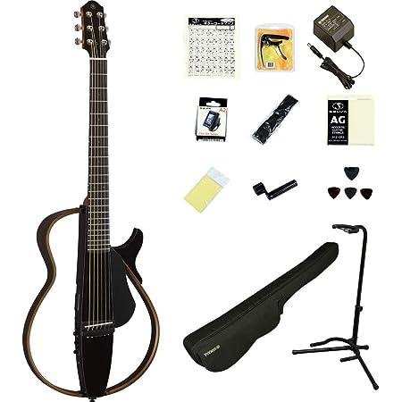 YAMAHA / SLG200S TBL (トランスルーセントブラック) 【充実のアクセサリーつき16点セット】 ヤマハ サイレントギター アコースティックギター スチール弦仕様 SLG-200S