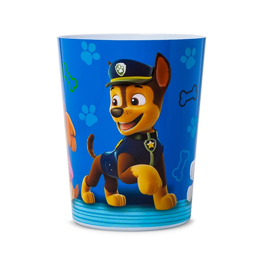PAW Patrol Kids Children Toddler Bedroom Bathroom Wastebasket Bin Trash Can Basket