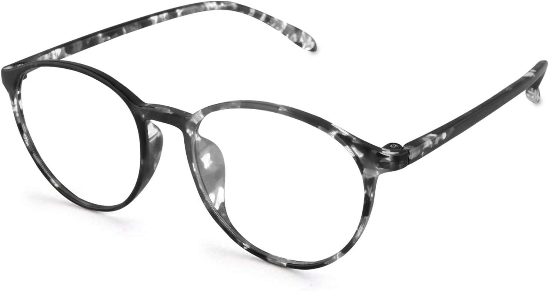 Blue Light Blocking Glasses for Computer - UV Filter Lenses - Protect from Eye Strain, Dry Eyes - for Working, Gaming, Reading - Non-Prescription - for Men and Women - One Size - Tortoise