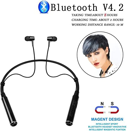 Romeo Bluetooth Headsets Wireless Earphones, Headphones for Redmi Note 5 pro, Mi 6 pro, Redmi Y3, Samsung M20, OnePlus 7, Oneplus 6t, Vivo V9, V11 pro, V15 Pro, Oppo F9 Pro, Realme 3 Pro, J2 Pro