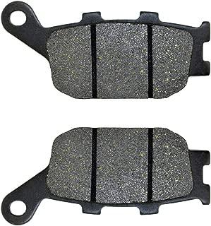 ZZOY Semi-organic Metallic Rear Brake Pads for YAMAHA FZ6 Fazer (Half Fairing/Non ABS/2 Piston Caliper) (5VX/5VXL) 2004-2007