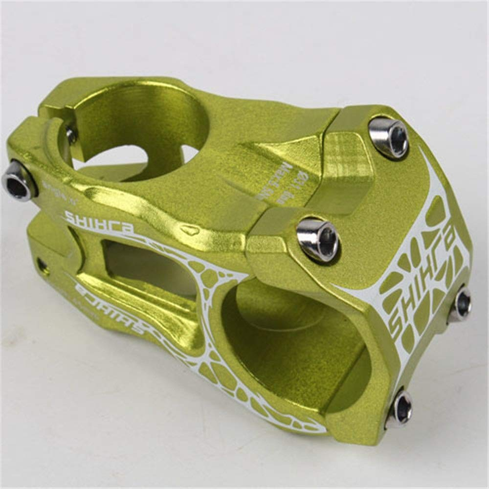Vástago de la bicicleta Elevador de bicicleta de montaña 31.8 * 45 mm Ultra ligero manillar corto adecuado for la mayoría de bicicletas Bicicleta de carretera Bicicleta de montaña Manillar corto para: