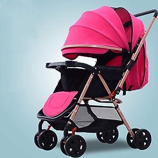 Stolar med vändbart styre, bärbar barnvagn ultralätt nyfödd buggy-d