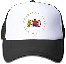 Grace Little Fat Albert And The Cosby Kids Youth Outdoor Mesh Hat Sports Hats Adjustable Black