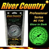 River Country 3' 'Night Glow' (RC-T3G) Premium BBQ, Grill, Smoker Thermometer