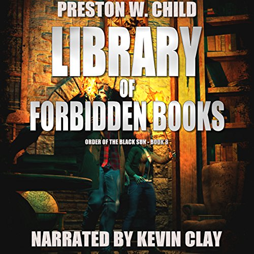The Library of Forbidden Books audiobook cover art