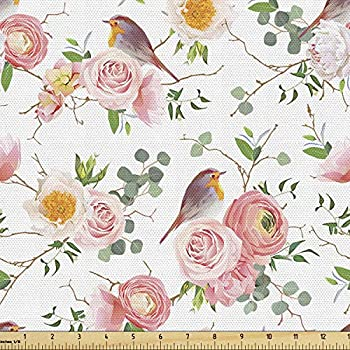 Best roses print fabric Reviews