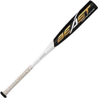 "EASTON Beast Speed -10 (2 5/8"") USA Youth Baseball Bat | 2019 | 1 Piece Aluminum | ATAC Alloy | Speed End Cap | Lizard Ski..."