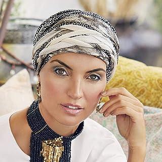 PHOGARY 4 Pisces Turban pour Femme,Foulard Chimio,Bonnet Chimio,Foulard Cheveux,Bonnet de Nuit,Bandeaux pour Cheveux Femme,Bandana Cheveux Femme Chapeau Perte Cheveux