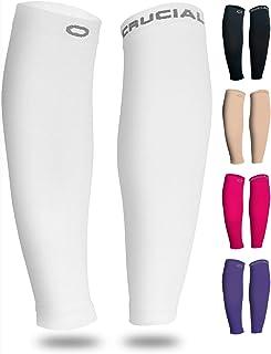 Calf Compression Sleeve for Men & Women (20-30mmHg) - Best Calf Compression Socks for Running, Shin Splint, Calf Pain Reli...