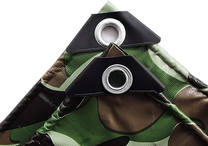 Bache de Camouflage imperméable et Robuste en polyéthylène avec Prougeection UV pour Camping-Car et remorque de Camping extérieur (Taille   2X1.5m)