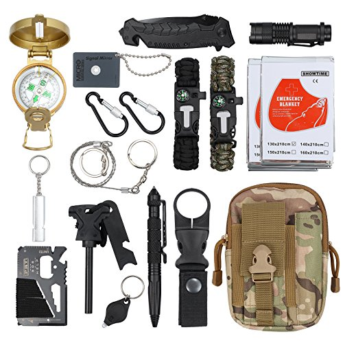Kamtop -  18 in 1 Survival Kit