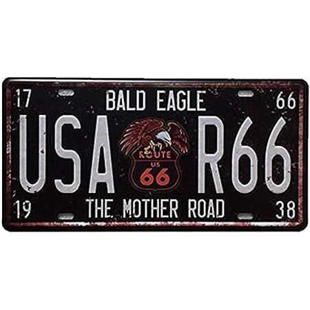Tammielove 2010er Texas Nummernschild God Bless Amerika Adler Amerikanische Flagge Dh84b 15 2 X 30 5 Cm Nummernschild Schild Bürobedarf Schreibwaren