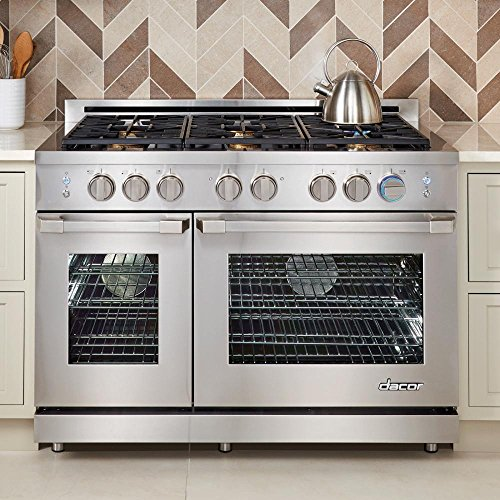 Dacor RNRP48GSNG 48' Renaissance Series Freestanding Gas Range with 6...