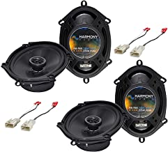 Harmony Audio Bundle Compatible with 2002-2004 Toyota Tacoma HA-R68 Car Stereo Replacement Speaker Upgrade and HA-728104 S... photo