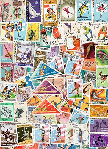 PHILAIMPEX 100 Different Stamps ON Sports fine Used CTO