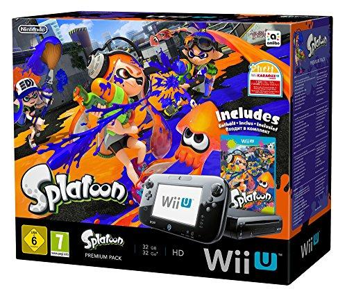 bester der welt Nintendo Wii U Schwarz Premium Bundle mit Splatoon 2021
