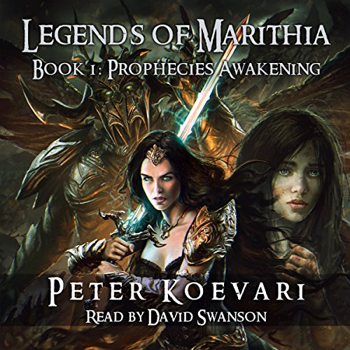 Prophecies Awakening audiobook cover art