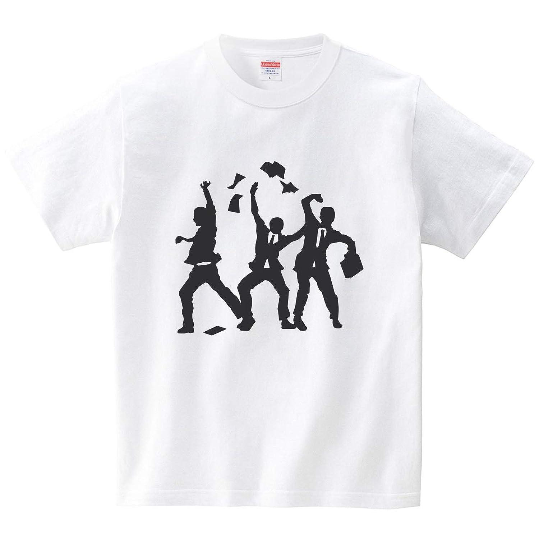 金曜日の夜(Tシャツ?ホワイト) (犬田猫三郎)