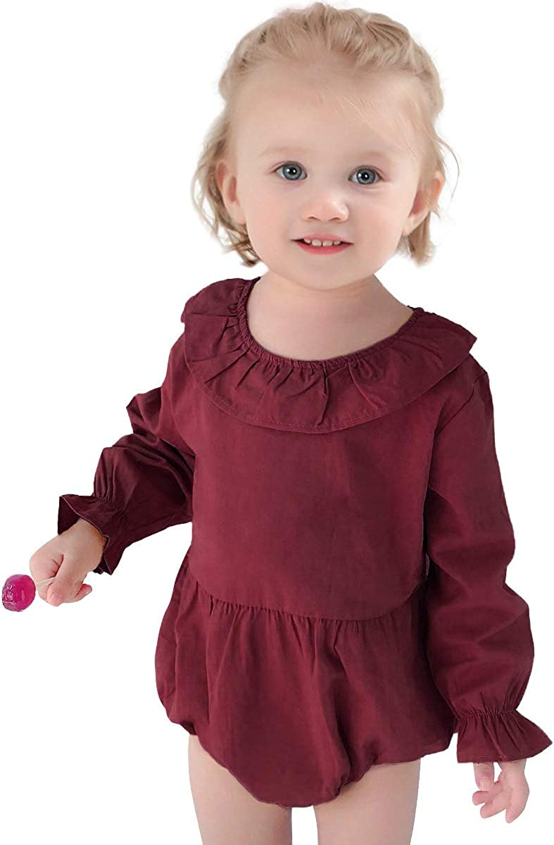Simplee Ranking TOP9 excellence kids Baby Girl Romper Causal Jumpsuit Newborn Outfi