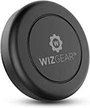 WizGear Magnetic Phone Mount, Universal Stick On Flat Dashboard Magnetic Car Mount Holder, for Cell Phones and Mini Tablets with Fast Swift-snap Technology (Extra Slim)
