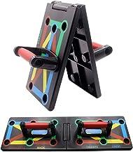 Cretee 12-in-1 opvouwbaar push-up rack board met handgreep voor spiertraining, effectief vormen