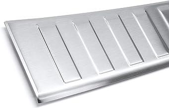 tuning-art L211-P1 Protección para Parachoques Acero INOX, Color:Plata