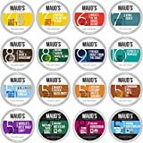 Maud's Coffee Lover's Variety Pack (16 Blend Variety Pack), 40ct. Solar Energy Produced Recyclable Single Serve Variety Pack Coffee Pods - 100% Arabica Coffee California Roasted, KCup Compatible