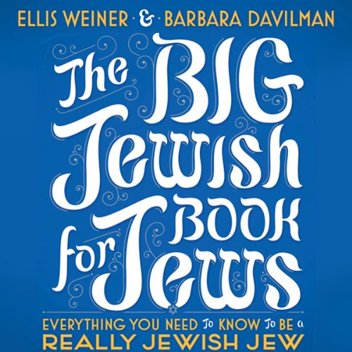 The Big Jewish Book for Jews audiobook cover art