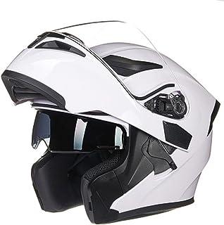 QXMEI Helm des Kreativen Teufels Sch/ädel-Form-Motorrad-Sturzhelm-halber Sturzhelm