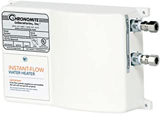 Chronomite SR-20L/240 HTR 240-Volt 20-Amp SR Series Instant-Flow Low Flow Tankless Water Heater