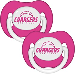Pacifier (2 Pack) Pink - San Diego Chargers