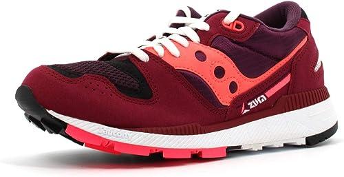 Saucony paniers Basses Femme Femme Chaussures S60437-19 Azura Taille 40 Bourgogne  profiter de vos achats