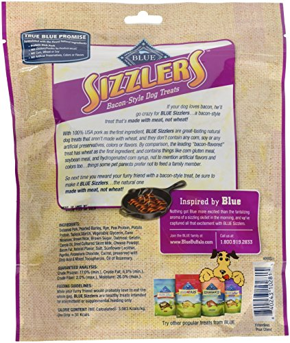 Blue Buffalo Blue Kitchen Cravings Sizzlers Pork, 6 Oz. (Pack Of 2)