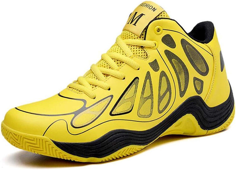 Men Mid-snekers Sport shoes Gym shoes color Match Lace Up Breathable Outdoor Sneakers Basket shoes Eu Size 39-45