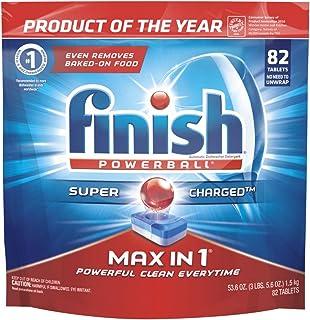 Finish — 全效合一洗碗機洗滌劑,82洗碗塊,強力清潔球、洗碗機洗滌片、洗碟劑系列?