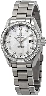 Seamaster Aqua Terra Mother of Pearl Diamond Dial Automatic Ladies Watch 231.15.30.20.55.001