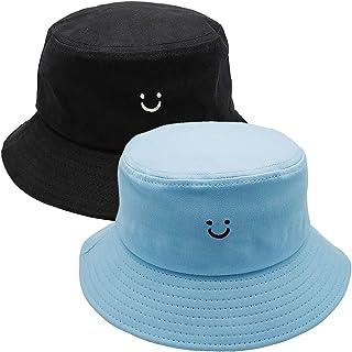 Paladoo Womens Bucket Hat Packable Summer Travel Beach Sun Hat 100% Cotton