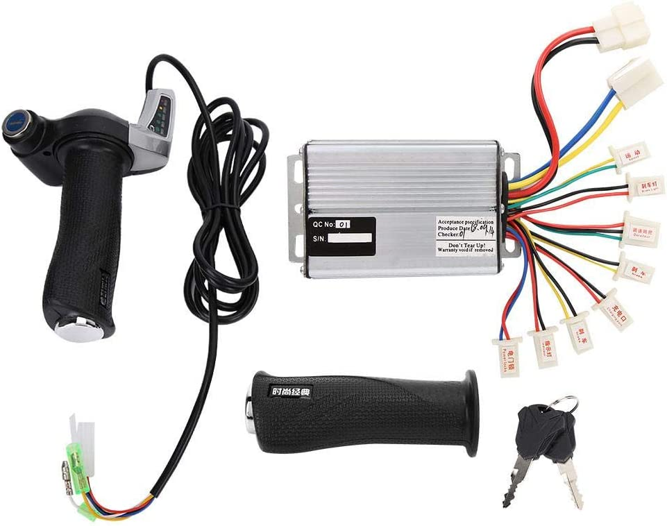 Alomejor 1000W Selling and selling Finally resale start Motor Brushed Controller Twist Grip with Throttle