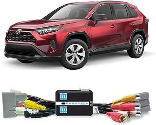 Interface Tela Toyota RAV4 2019 a 2020 Faaftech FT-VF-TY5 Desbloqueio DVD TV USB Câmera de Ré
