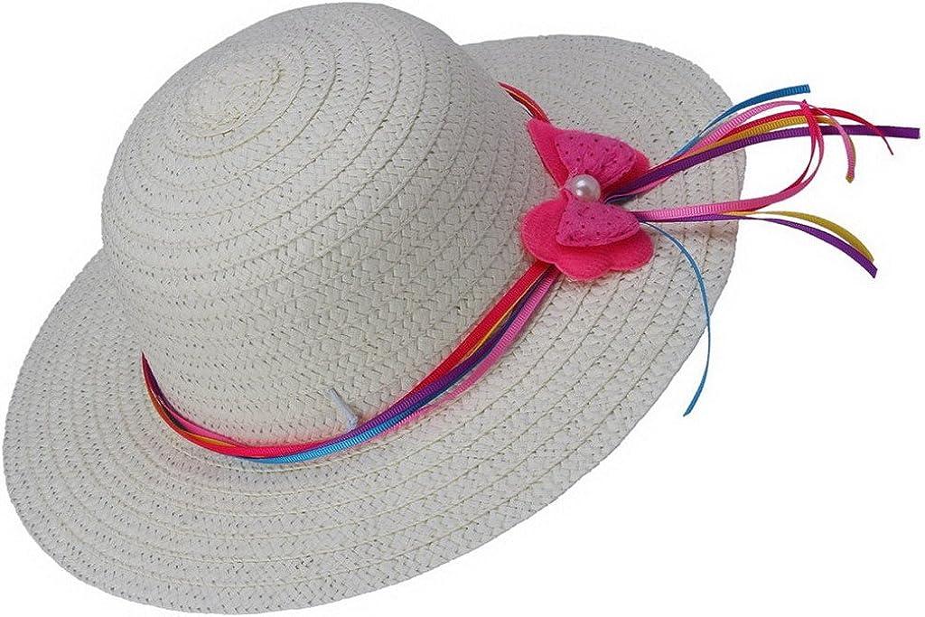 Green /& Teal Print  Orange with White Polka Dot Brim  Child/'s Size Medium Pink Girl/'s Wide Brim Cotton Sun Hat  Gray
