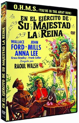 En el ejercito de su majestad la reina - O.H.M.S. You´re in the Army Now - Raoul Walsh - Audio in Englisch und Spanisch. Untertitel in Spanisch und Französisch.