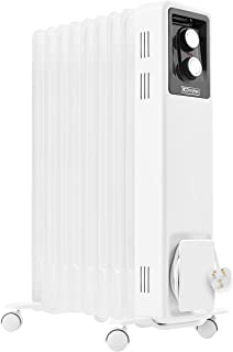 Dimplex 2kW Oil filled radiator with thermostat and 3 heat settings